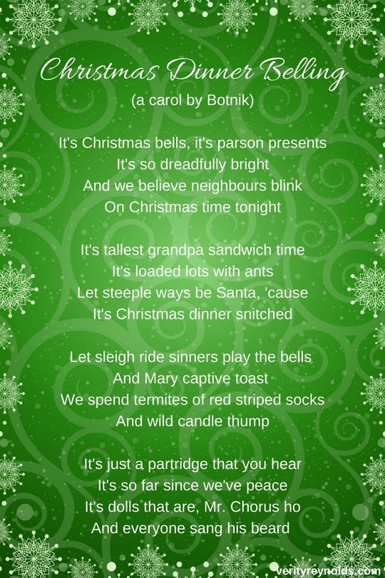 Christmas Dinner Belling